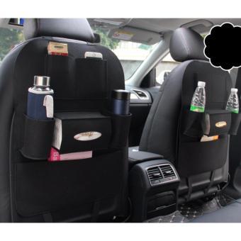 Túi 6 ngăn sau ghế xe hơi, ô tô đựng nhiều đồ N89 (Đen)