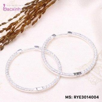 Bông tai nữ trang sức bạc S925 Italia Bạc Xinh RYE3014004
