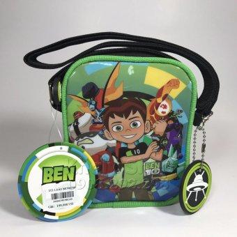 Túi Đeo Chéo 1 dây BEN 10 hàng THÁI LAN 12x4x15cm dành cho bé GÁI
