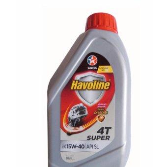 Caltex Havoline Super 4T SAE 15W-40 0.8L