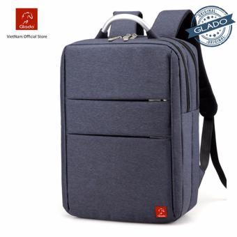 Balo Laptop Glado Cylinder Màu Xanh BLC012 - Hãng Phân Phối Chính Thức