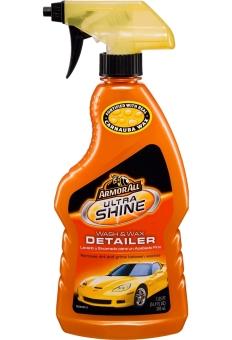 Armorall Wash & Wax Detailer - Sản phẩm lau bóng nhanh sơn xe 500ml (Cam)