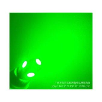Bóng đèn 12V đèn sương mù đèn mầu Xanh lá cây 4 chiếc lăp taplo , xi nhan ô tô xe máy