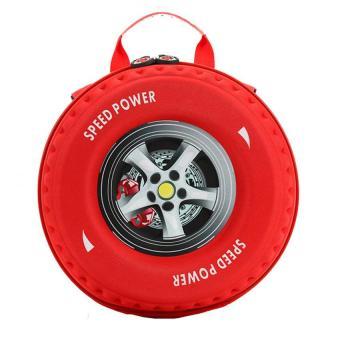 Ba lô hình bánh xe 3d cho bé.