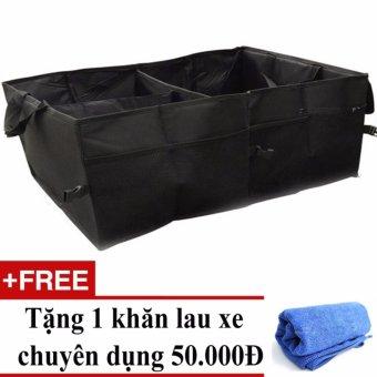 Túi đựng đồ để cốp oto Carsun + Tặng 01 khăn lau xe chuyên dụng