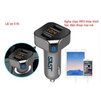 Tẩu Nghe Nhạc và kết nối Bluetooth trên ô tô T55