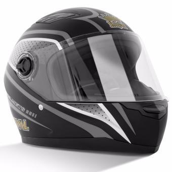 Mũ bảo hiểm Royal M136 (Tem đen trắng)
