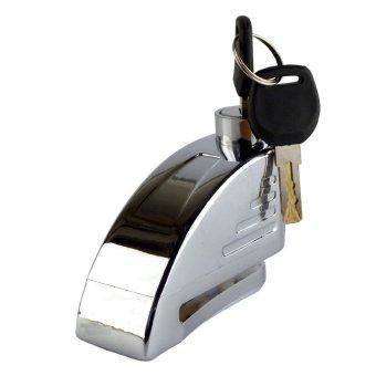 Khóa đĩa có báo động âm thanh chống trộm Alarm Disc Lock NC303( Trắng)
