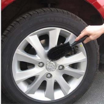 Bàn chải cọ rửa làm sạch lốp ô tô (Đen)