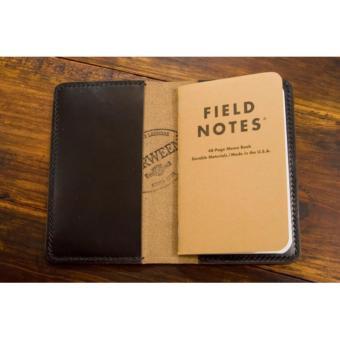 Ví đựng passport, field notes da thật LDD0035