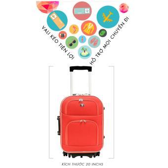 Vali du lịch kéo tay 20inch BiTi (Đỏ)