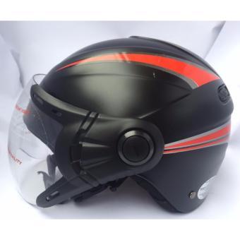 Mũ bảo hiểm BK 12 kính (Đen)