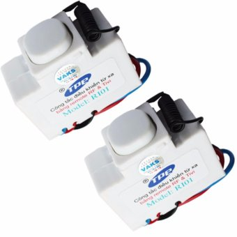 Bộ 2 hộp công tắc học tín hiệu điều khiển từ xa IR-RF TPE RI01