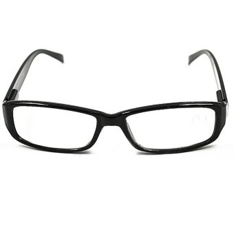 Comebuy88 New Black Comfy Reading Glasses Presbyopia 2.5 Diopter- - intl