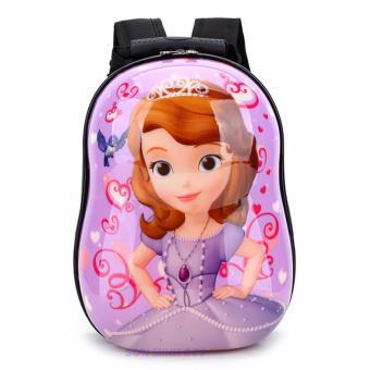 Ba lô nhựa xinh xắn dành cho trẻ em - Công chúa(Tím)