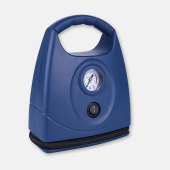 Bơm lốp xe ô tô kèm đồng hồ kiểm tra áp suất (Xanh)