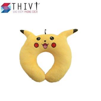 Gối cổ tạo hình Pokermon Go 06 - THIVI(Pikachu Vàng)
