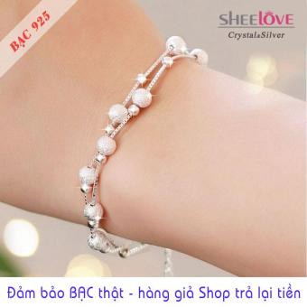 Lắc tay BẠC 925 thời trang Hàn Quốc xinh xắn SB-ML82