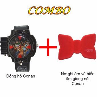 Bộ Đồng hồ đeo tay Thám tử lừng danh Conan + Nơ ghi âm và biến âm giọng nói Thám tử lừng danh Conan