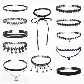 Mua Bộ 12 chiếc vòng cổ choker đa phong cách mẫu mới giá tốt nhất