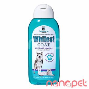 Sữa Tắm cho chó mèo PPP Whitest Coat Lông Trắng Chai 400ml