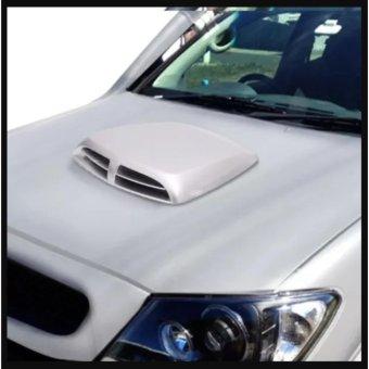 Độ hốc gió cao cấp cho nắp capo xe hơi (màu trắng)