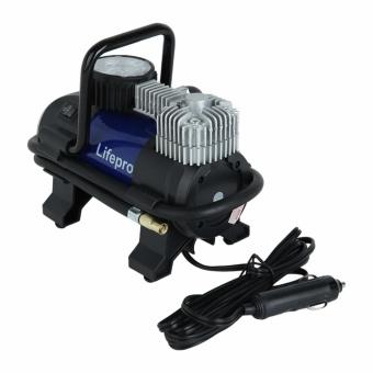 Máy bơm lốp xe ô tô Lifepro L601-HE + Tặng kèm móc treo hành lý
