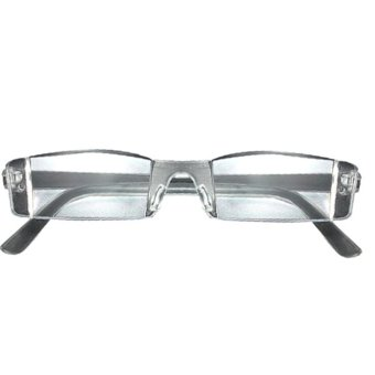 Clear Rimless Reading Glasses 1.00 to 4.00 Diopter +2.0 - Intl