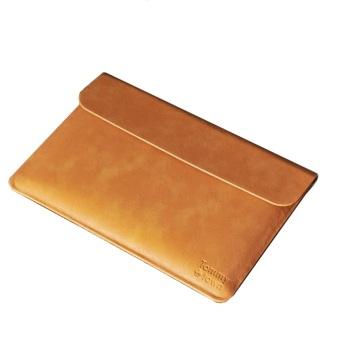 Túi da bảo vệ Macbook 11inch Tommy Town-M179 (Nâu sáng)