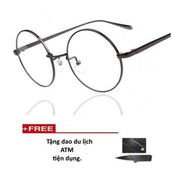 Mắt kính ngố gọng cậnkhông độ Nobita dễ thương (tặng dao thẻ atm)