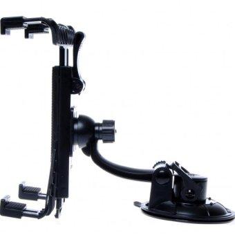 Giá kẹp máy tính bảng, iPad 360 độ trên xe ô tô hay mọi mặt phẳng PRESS H139 (Đen)