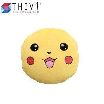 Gối tựa lưng tạo hình Pokermon Go 06 - THIVI(Pikachu Vàng)
