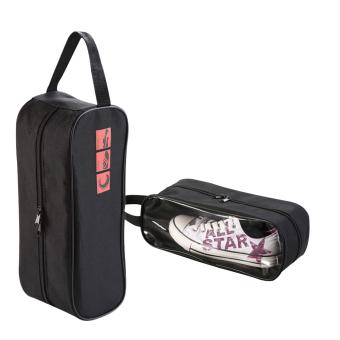 Bộ 2 túi đựng giày du lịch tiện dụng Hoài Anh (Đen)