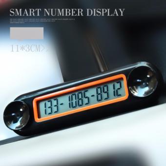 Bảng số điện thoại màn hình LCD cho ô tô(Đen)