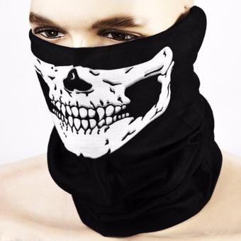 Bộ 2 khăn bịt mặt đầu lâu đa năng (Đen)