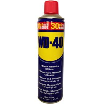 Chai xịt chống rỉ sét, bôi trơn bảo dưỡng WD-40 412ml