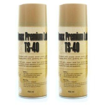 Bộ 2 Chai xịt vệ sinh sên, chống sét TS-40 450ml