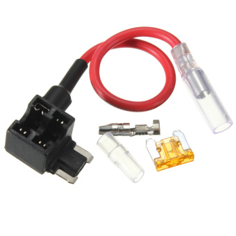 ACS-J Add A Circuit Piggy Back Pluggable Standard Blade Tap Fuse Holder - Intl
