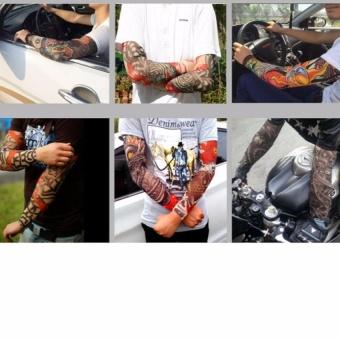 ống tay chống nắng hình săm tattoo
