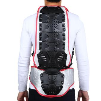 SALETU Motorcycle Racing Riding Skating Armor Backpiece Waist Back Spine Protector - intl
