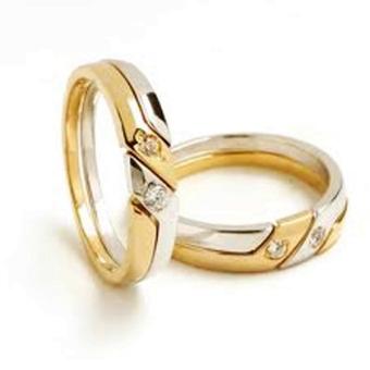 Nhẫn cưới vàng 14k NC011