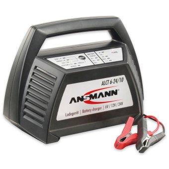 Bộ sạc Acquy ANSMANN ALCT 6-24V 10A (Đen)
