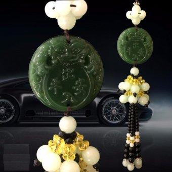 Dây đá phong thủy treo ô tô