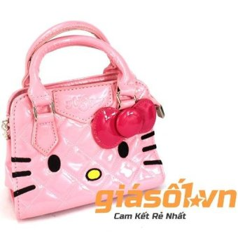 Túi đeo chéo cho bé gái Hellokitty 833 (Hồng)