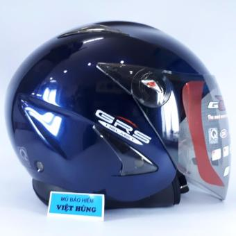 Mũ bảo hiểm GRS A27 (Xanh đậm bóng)
