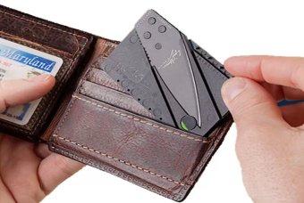 Bộ 3 Dao Du Lịch Thẻ ATM Bỏ Ví Loại 1 (Màu đen)