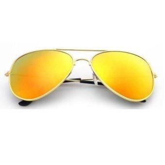 Mua Mắt kính tráng gương phản quang thời trang nam nữ TTP (Vàng đồng) giá tốt nhất