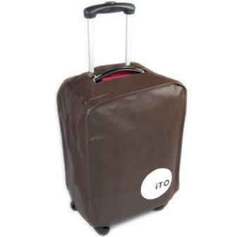 Túi bọc vali chống nước size 28 KP1 Kim Phát (nâu)