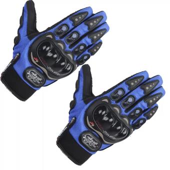 Găng tay đủ ngón probiker - BTDN3 (Xanh)