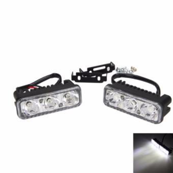Bộ 2 đèn led trợ sáng C3 6w (sáng trắng)